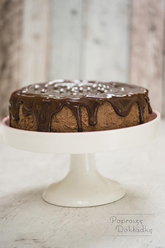 sernik czekoladowy ze śliwkami