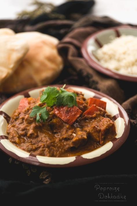 Indyjskie curry z dynią