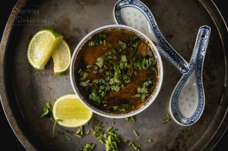 tajska zupa tom yum przepis