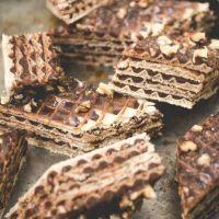 Pischinger - Wafel przekładany masą kakaową