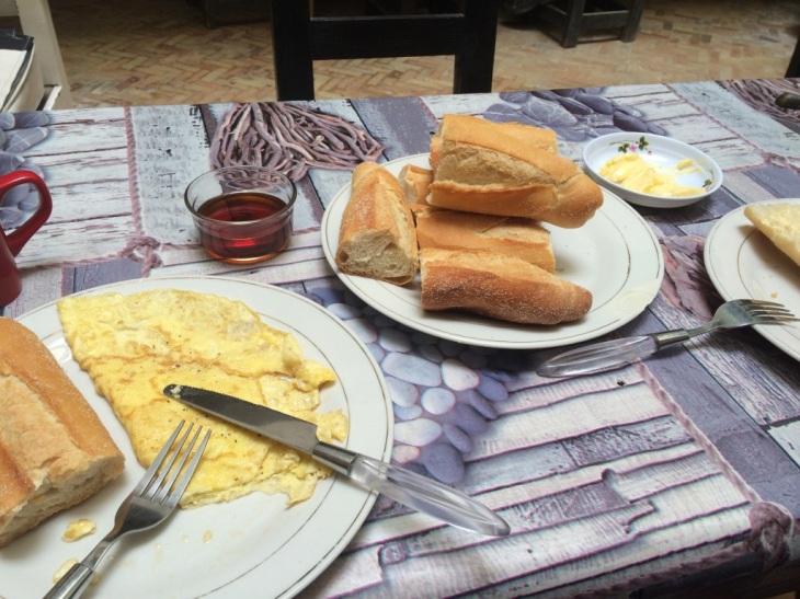 śniadanie w Maroku