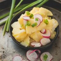 Bayerischer Kartoffelsalat - Niemiecka sałatka ziemniaczana